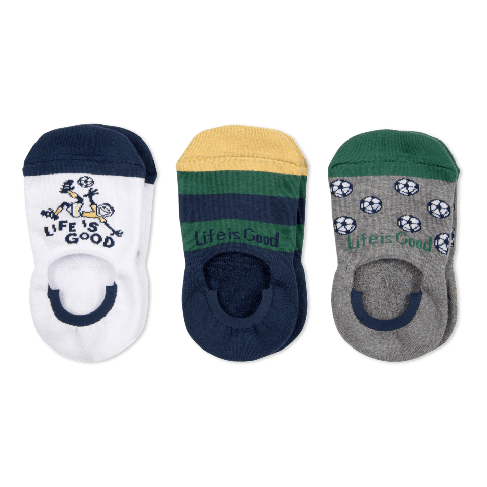 Our invisible no-show silhouette stays hidden and, most importantly, has a silicone heel grip to keep them from sliding. With a cushioned footbed, comfort toe and arch support, these socks are great for your everyday when you´re on the go!