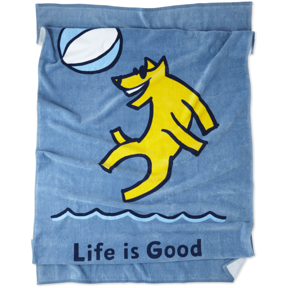 Beach Ball Rocket Beach Towel 51692-OS