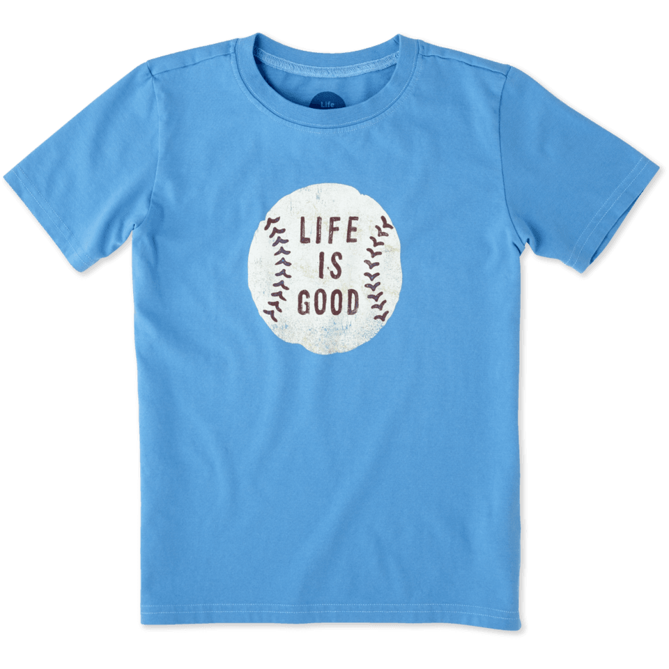 Boys Baseball Crusher Tee