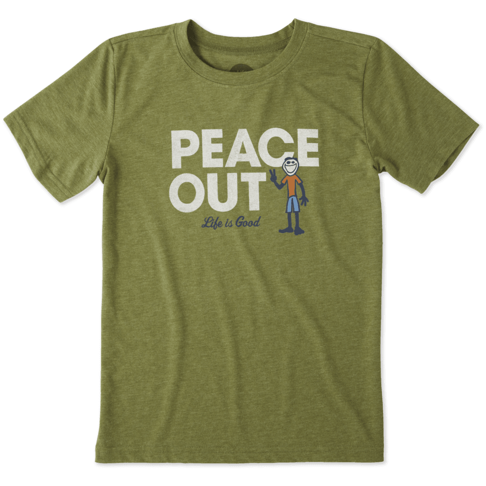 Boys Peace Out Jake Cool Tee