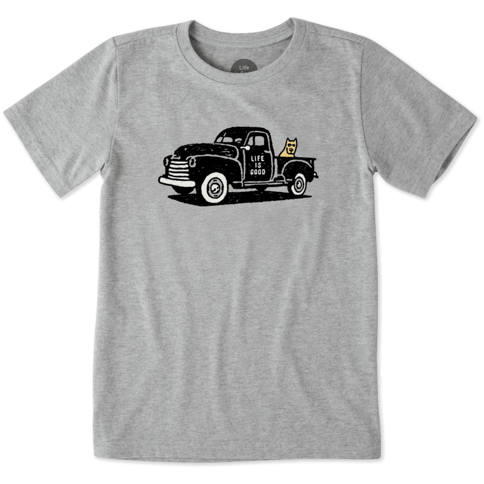 Boys Rocket Truck Crusher Tee