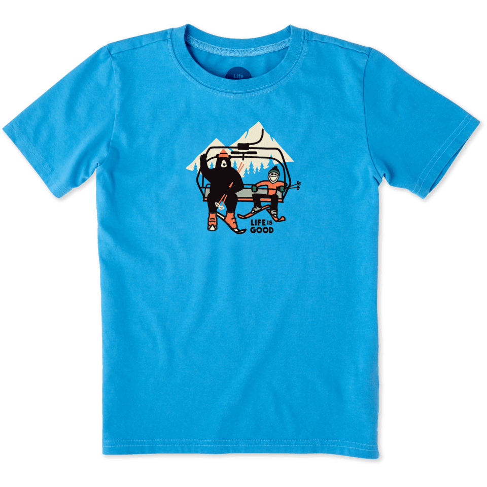 Boys Ski Lift Bear Crusher Tee