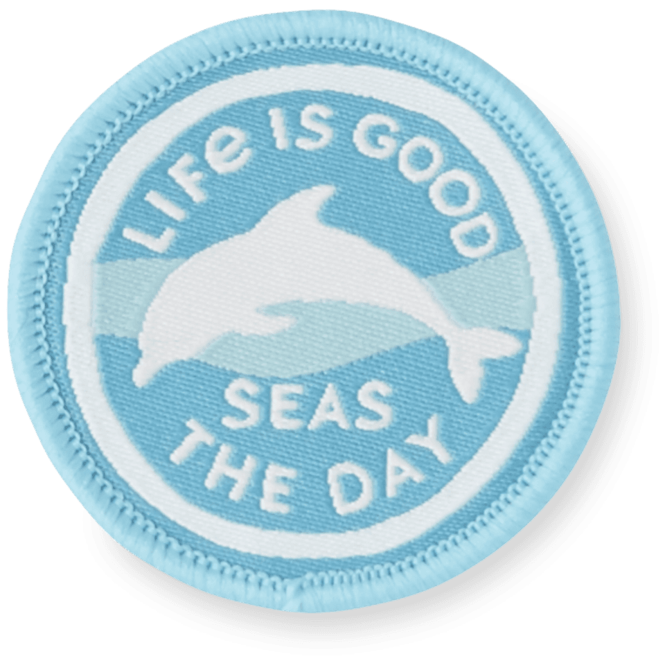 Dolphin Days Positive Patch