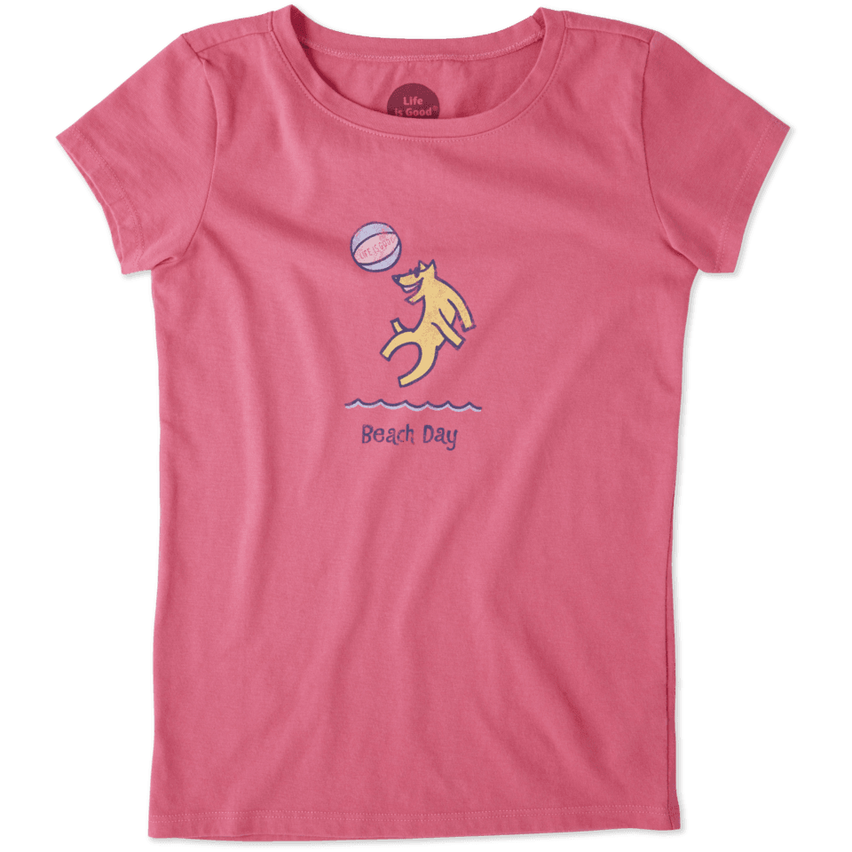 Girls Wild Bear Crusher Tee