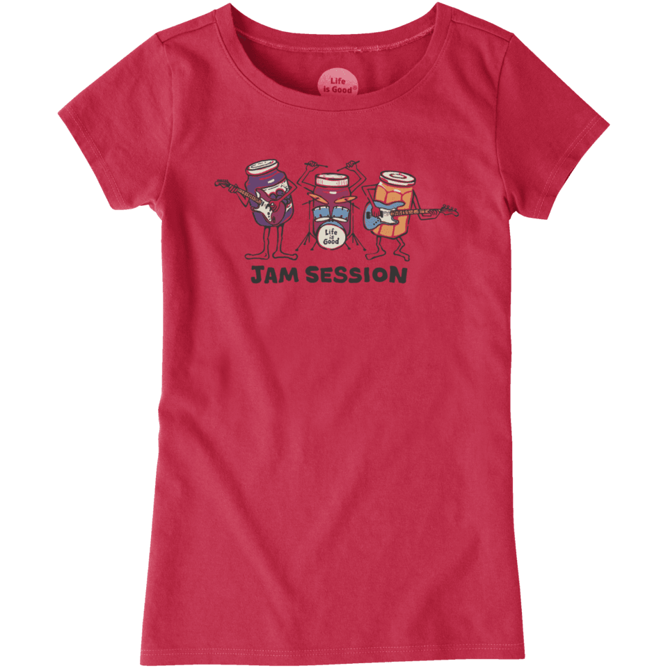 Girls Jam Session Crusher Tee