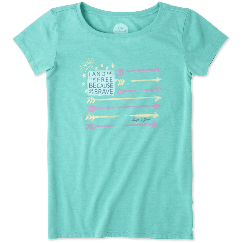 Girls Unplug Bear Smiling Smooth Tee