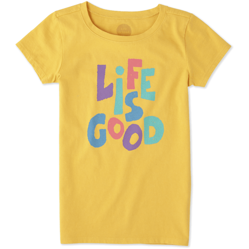 Girls Life is Good Crusher Tee