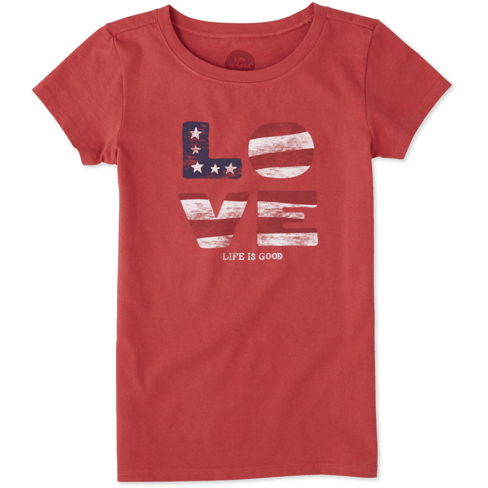 Girls Love Flag Crusher Tee