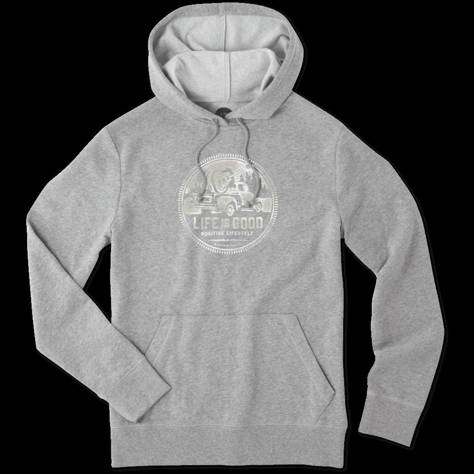 Men's Guitar Truck Lifestyle Hooded Sweatshirt 51747-S