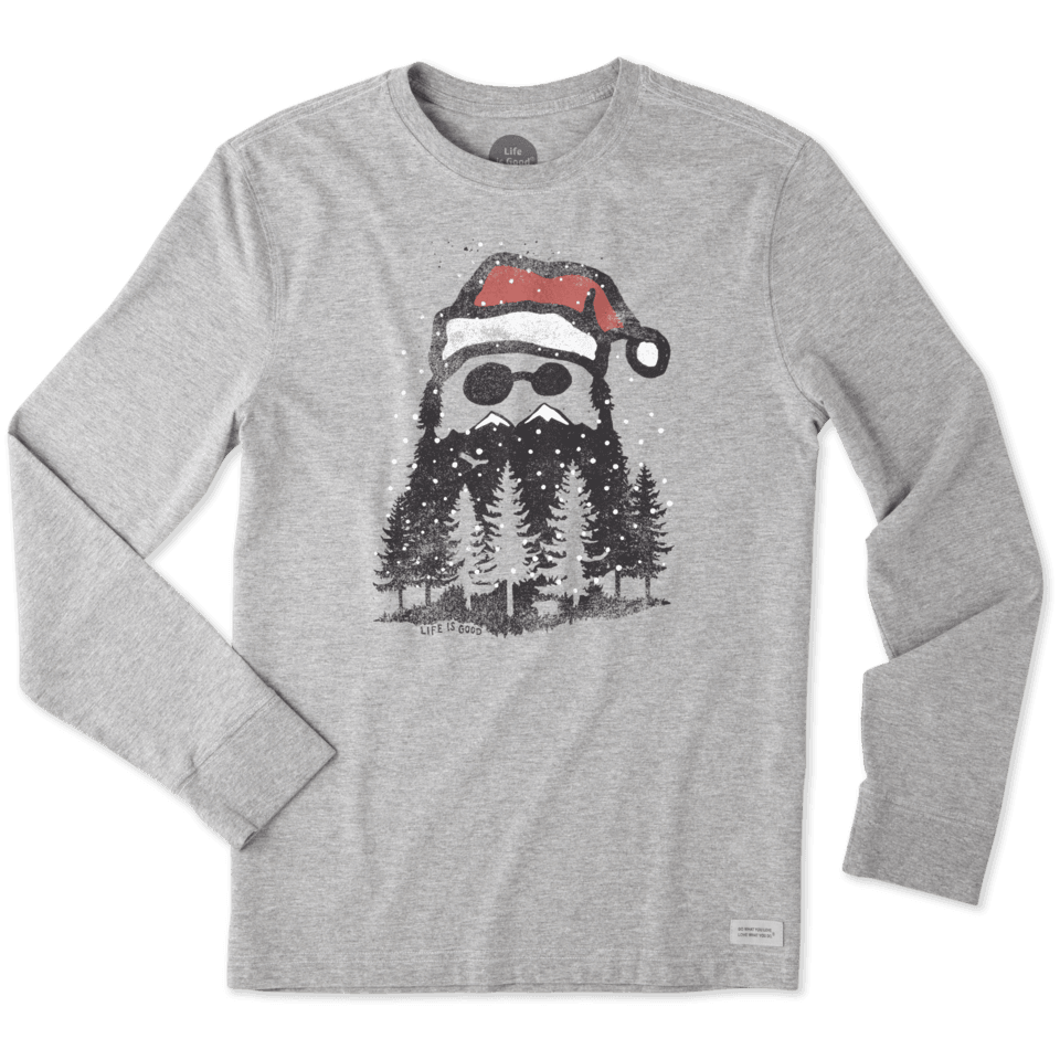 Mens Thankful Beard Crusher Tee