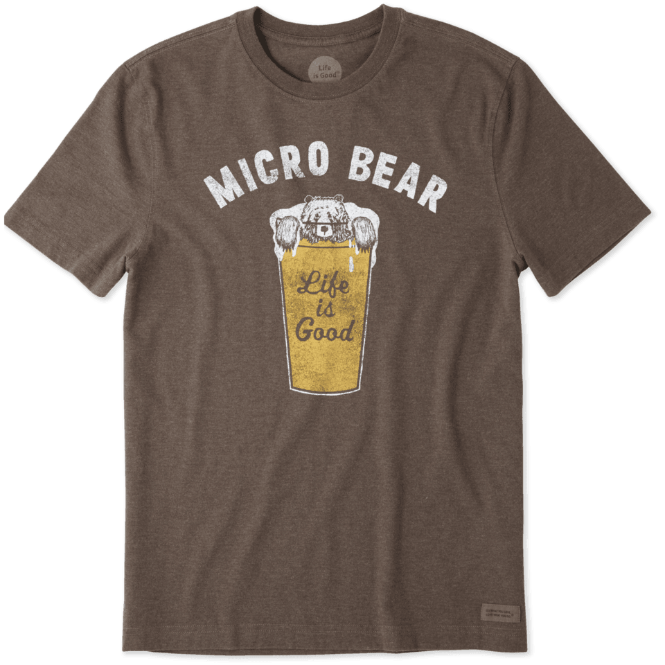 Mens Micro Bear Crusher Tee