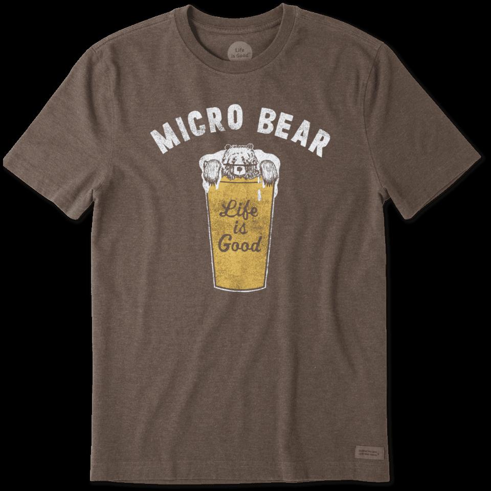 Mens Micro Bear Crusher Tee