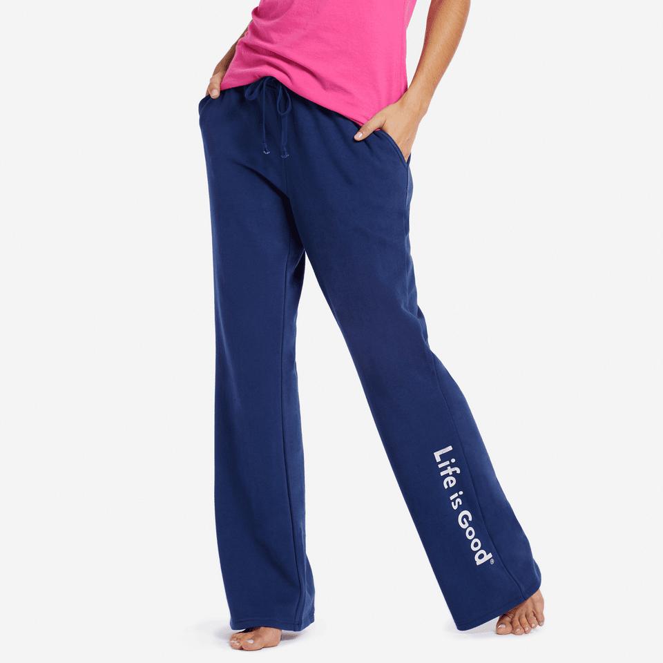 Womens Evolved Classic Lig Fleece Lounge Pant