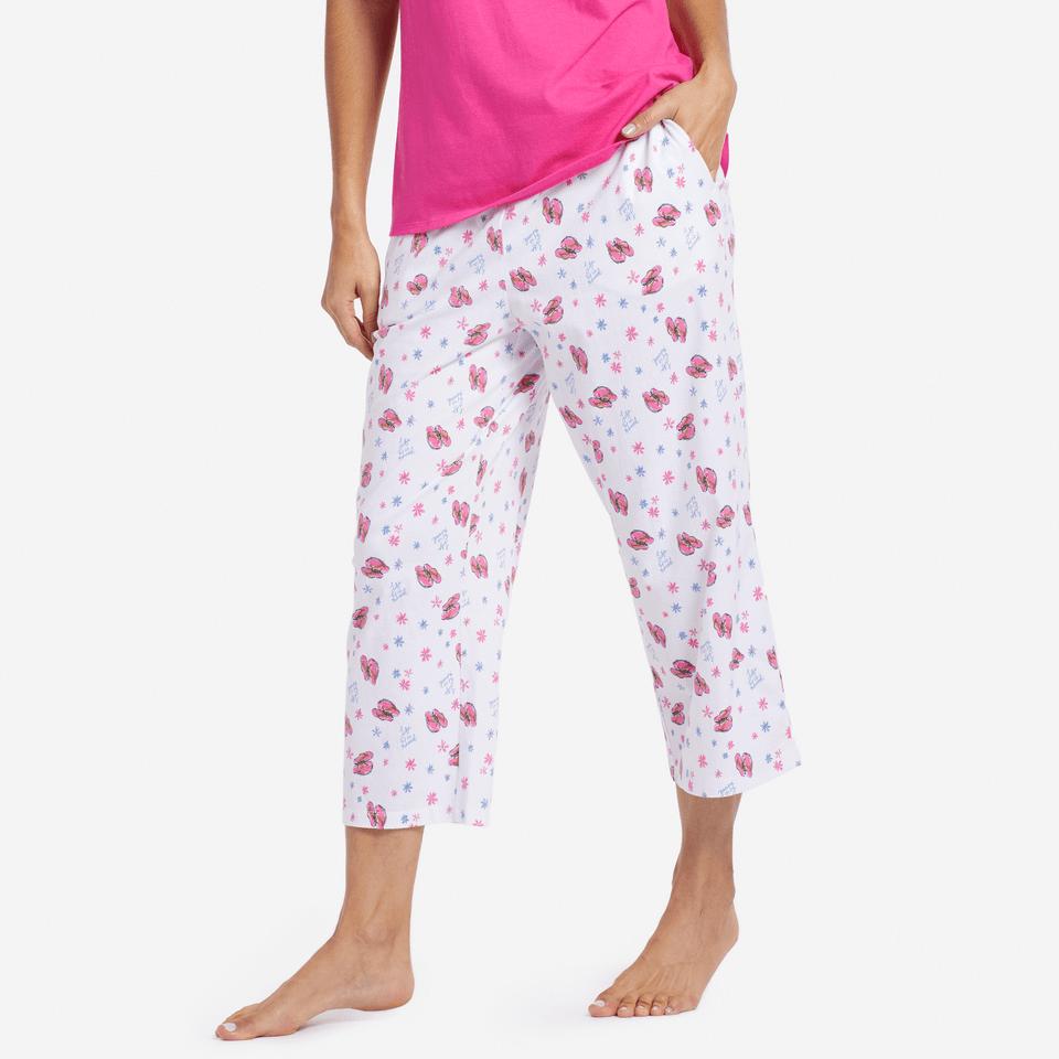 Womens Flip Flop Toss Sleep Pants