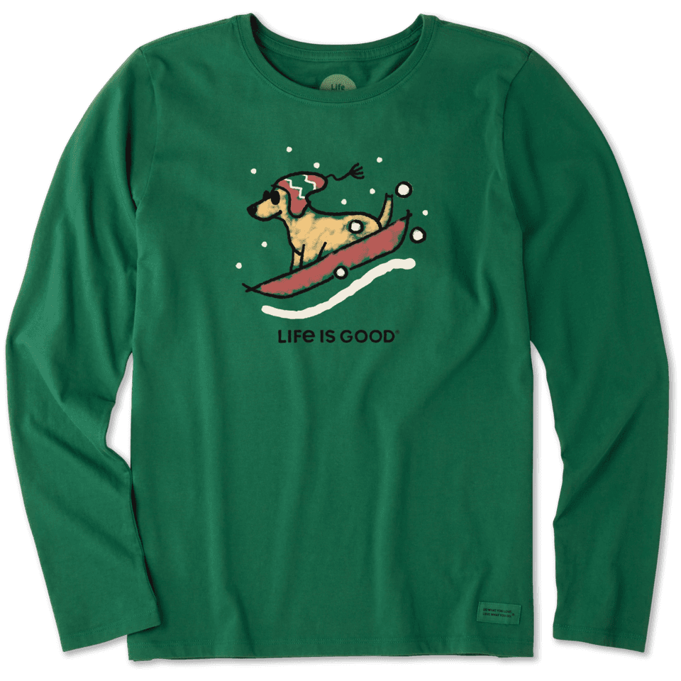 Women's Sled Dog Long Sleeve Crusher Tee
