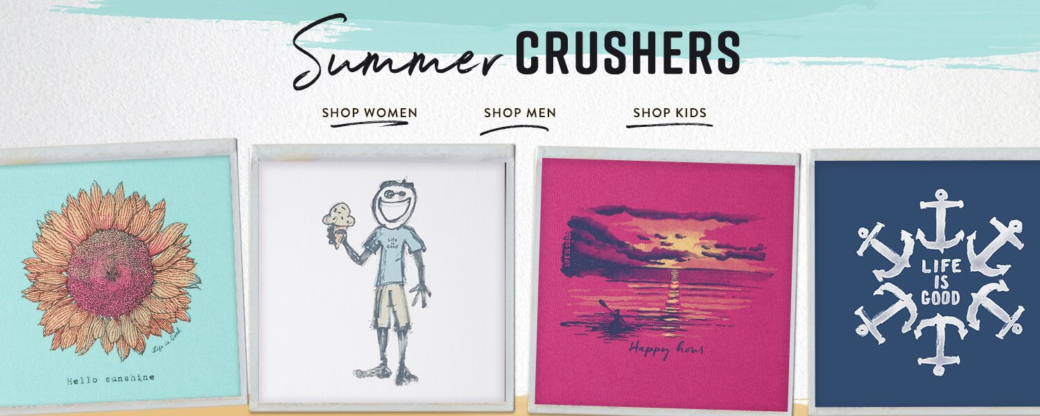 Shop our All New Summer Crushers