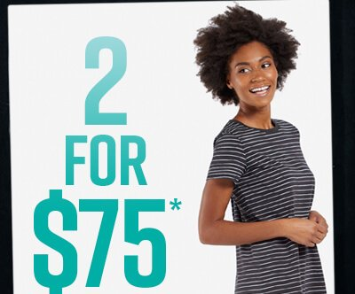 Buy Any 2 Dresses for $75