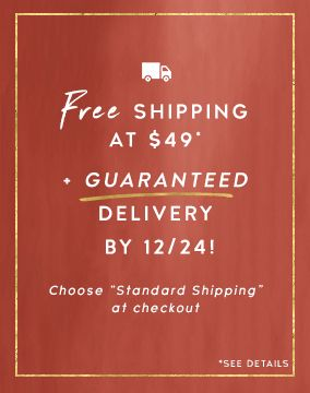 Guaranteed Holiday Shipping