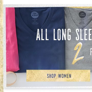 2 for $45 Women's Short Sleeve Solid Tees