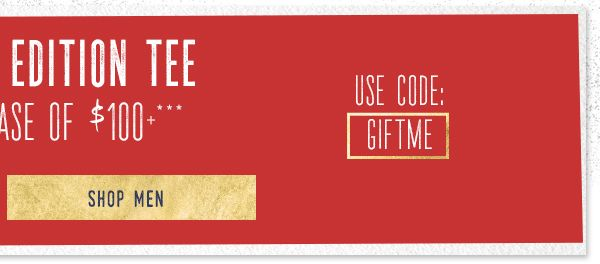 Free Tee with a $100 Purchase - Shop Men's Graphic Tees