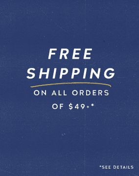 Free Shipping on Order Over $49