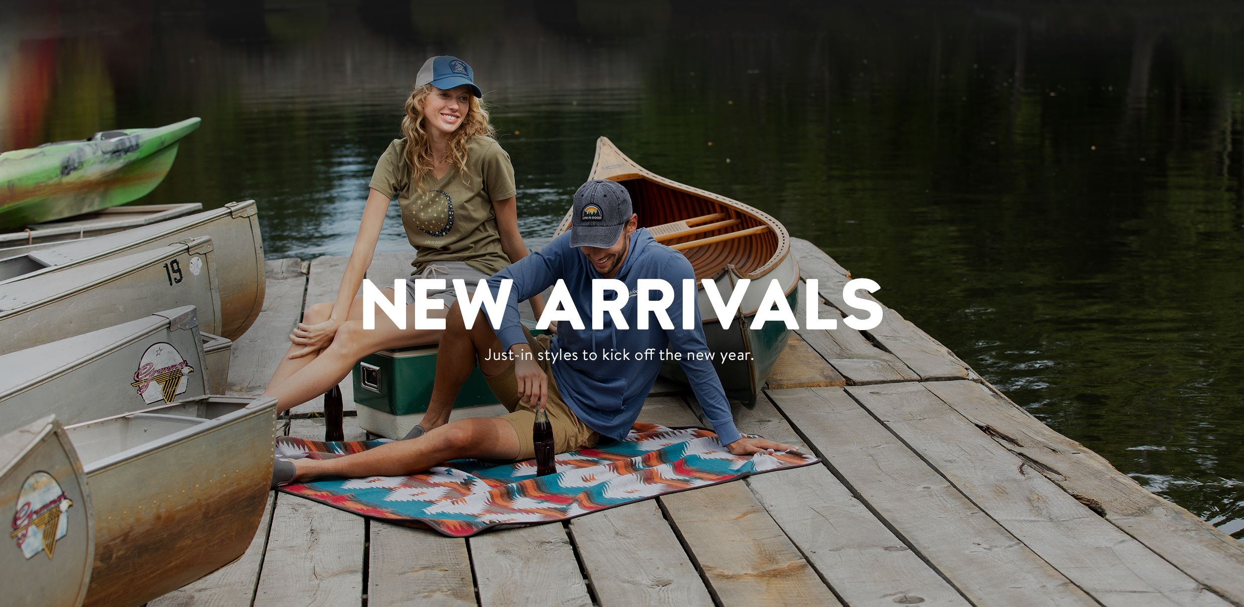 New Arrivals, Just-in styles to kick off the new year