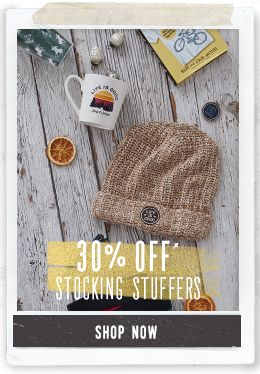 30% Off of Stocking Stuffers