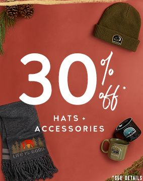30% Off Hats & Accessories