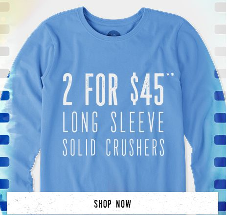 Women's Long Sleeve Solid Tees 2 for $45