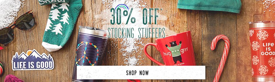 Shop Stocking Stuffers and get 30% Off