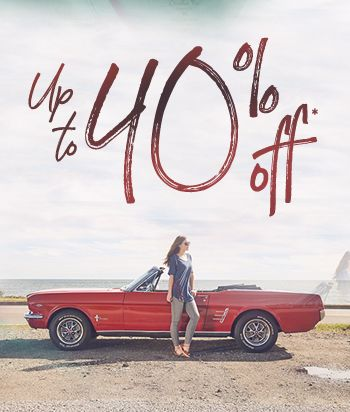 Shop Sale and get up to 40% Off