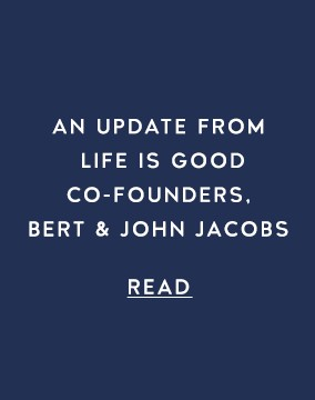 A message from Bert & John Jacobs