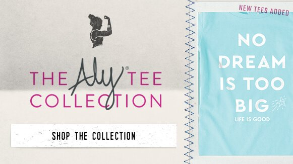 Shop the Aly Raisman Collection - New Tees Added