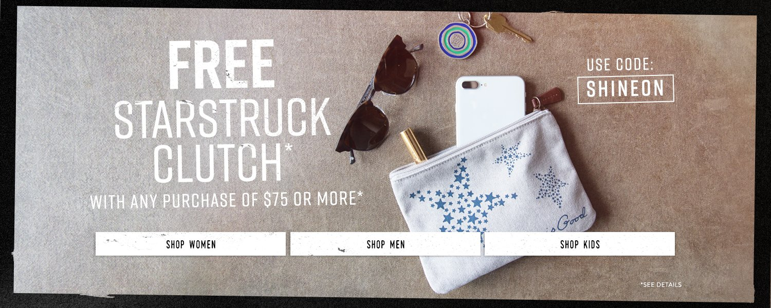 Free Starstruck Clutch with the Purchase of $75