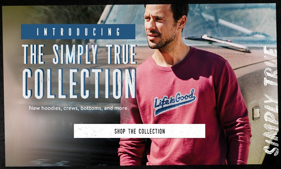 Shop the Men's Simply True Collection