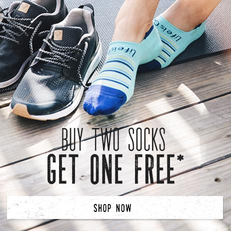Buy Two Socks Get One Pair Free