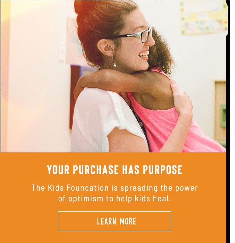 Your Purchase Helps Kids in Need. The Life is Good Kids Foundation