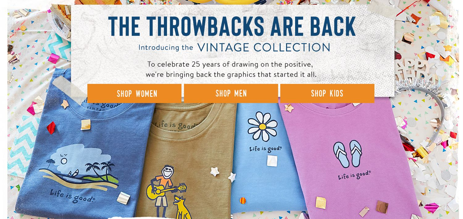 Shop the Vintage Tee Collection