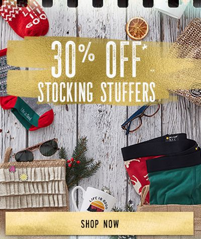 Get 30% Off of Stocking Stuffers