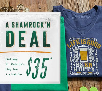 Shop the St. Patrick's Day Collection