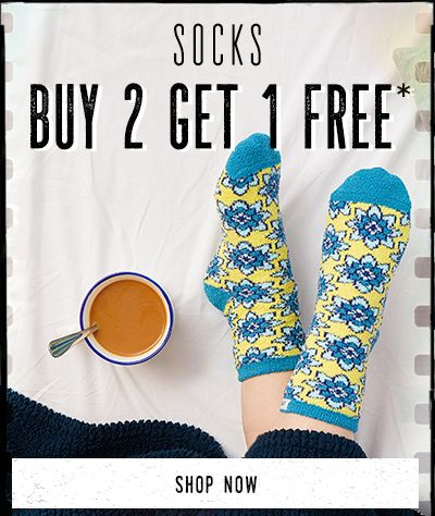 Buy 2 get 1 Free - Women's Socks