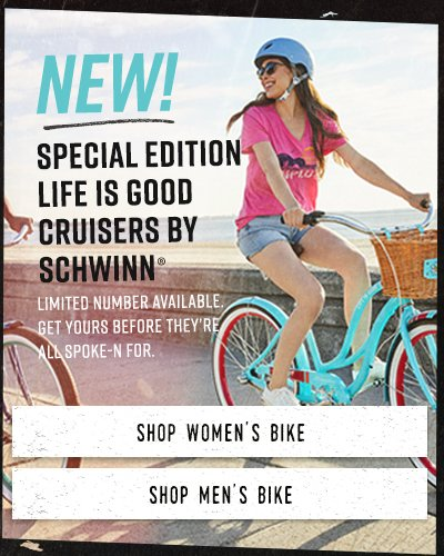 Shop Life is Good Bikes by Schwinn
