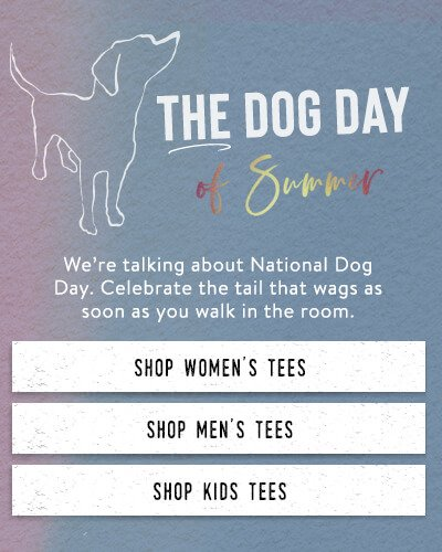 Shop the Dog T-shirt Collection