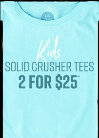 Buy Two Kids Solid T-shirts for $25